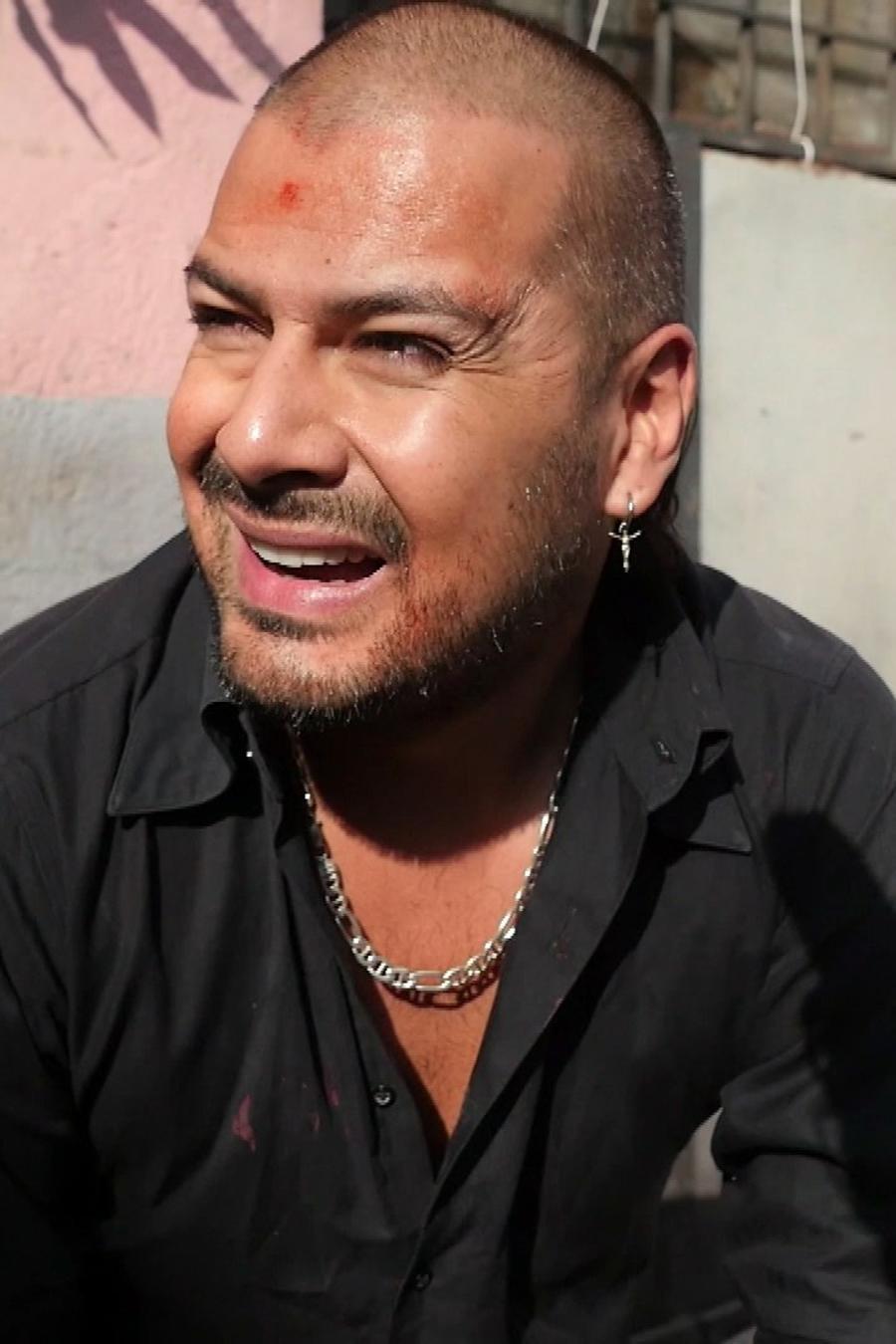 Rafael Amaya, Aurelio Casillas, sonriente, El Señor de los Cielos Nueva Temporada