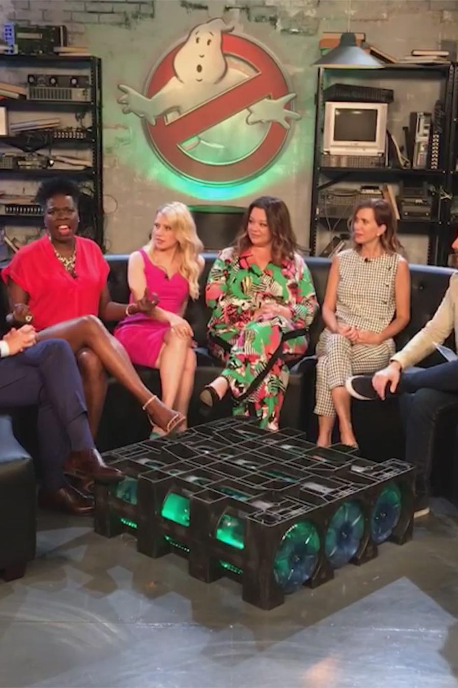 """Los mejores momentos del elenco de """"Ghostbusters"""" en Telemundo"""