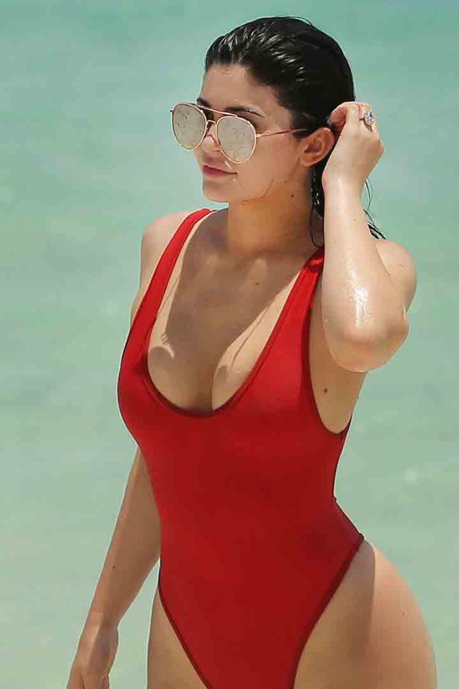 Kylie Jenner y Tyga en Turks & Caicos