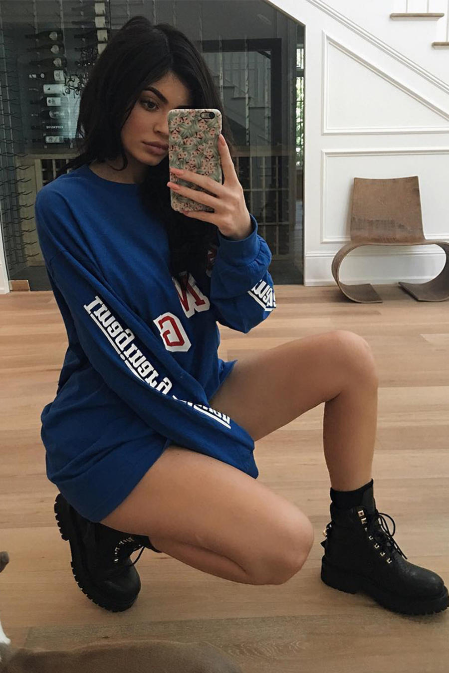 Kylie Jenner en Snapchat