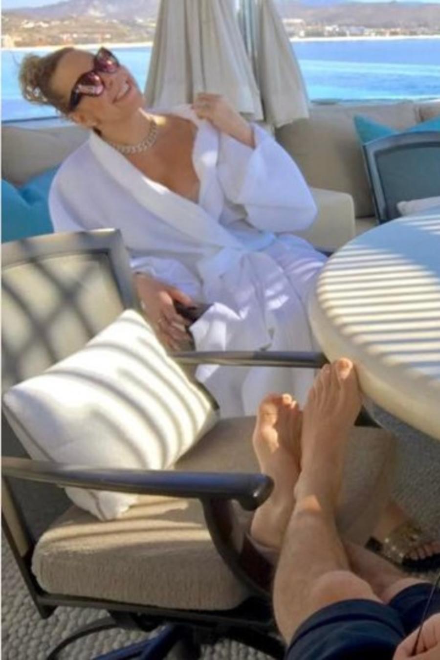 """Mariah Carey celebró su """"aniversario"""" junto a su novio"""