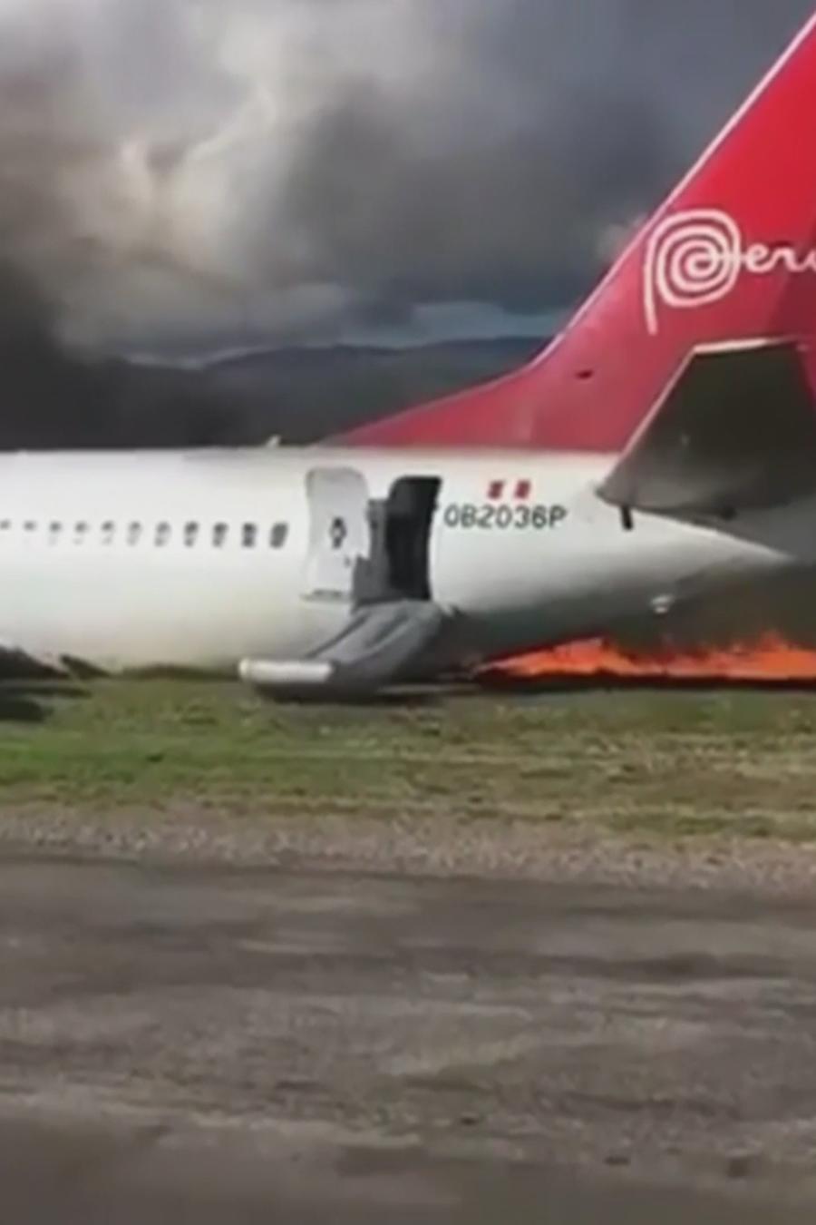 arde en llamas