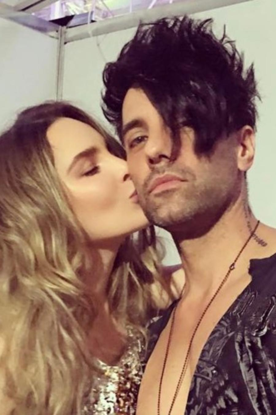 Belinda y Criss Angel