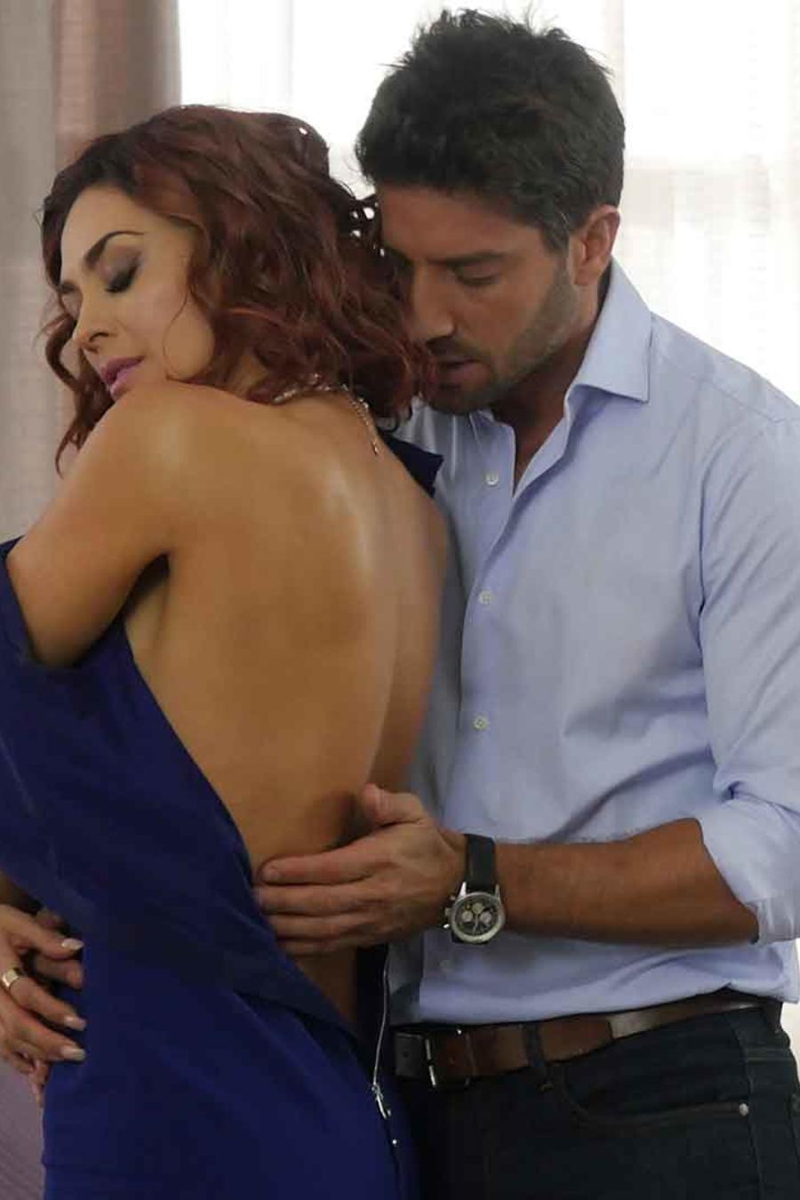 David Chocarro y Aracely Arámbula en La Doña