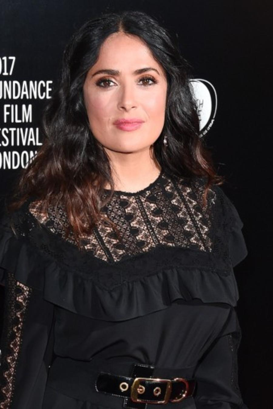 "Salma Hayek en la premiere de ""Beatriz at Dinner"""