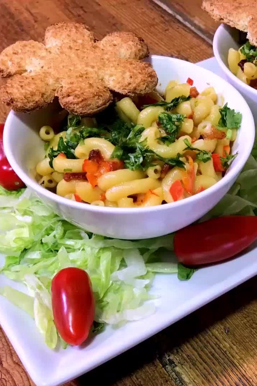 Mac and Cheese Primaveral