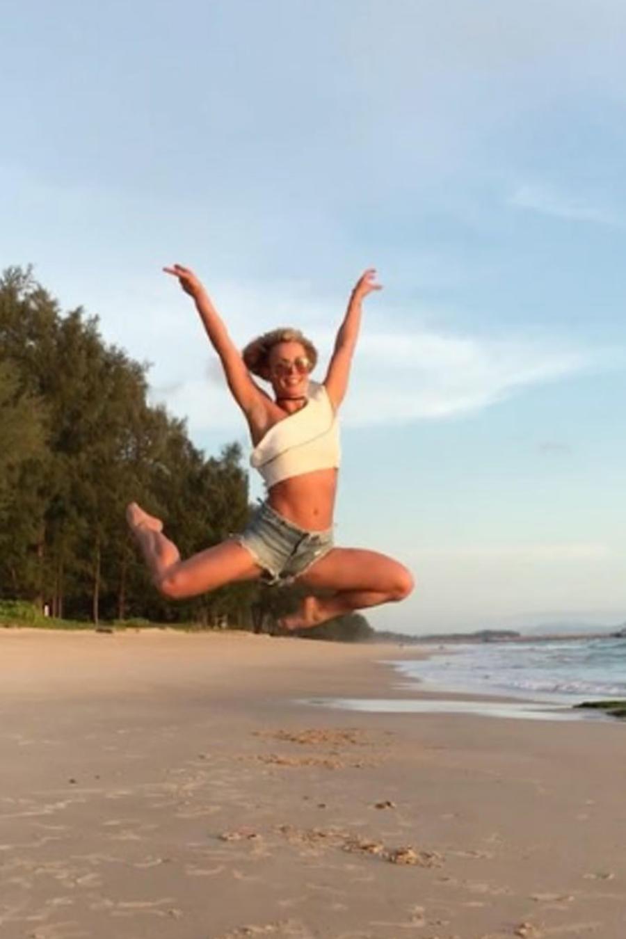 Britney Spears en Tailandia