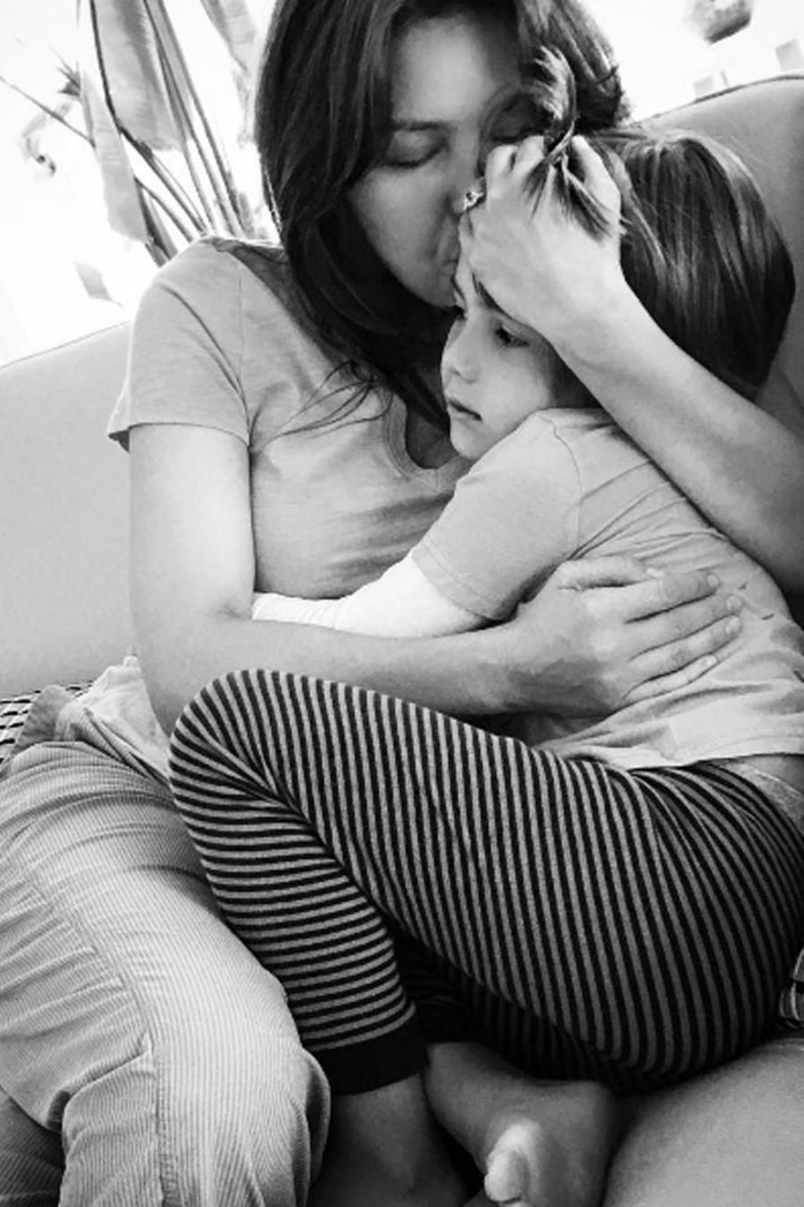 Thalía con su hijo Matthew