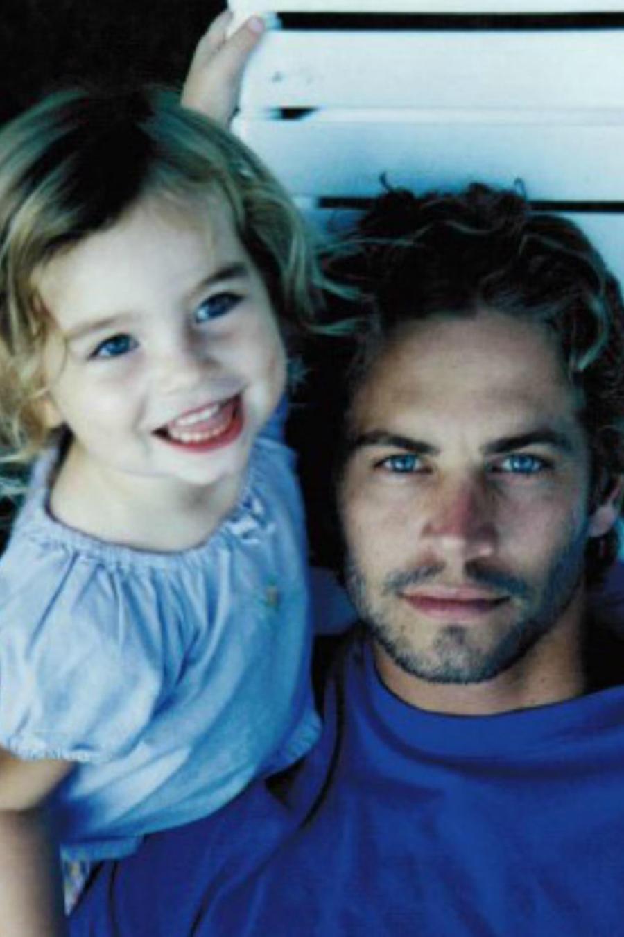 Paul Walker con su hija Meadow Walker