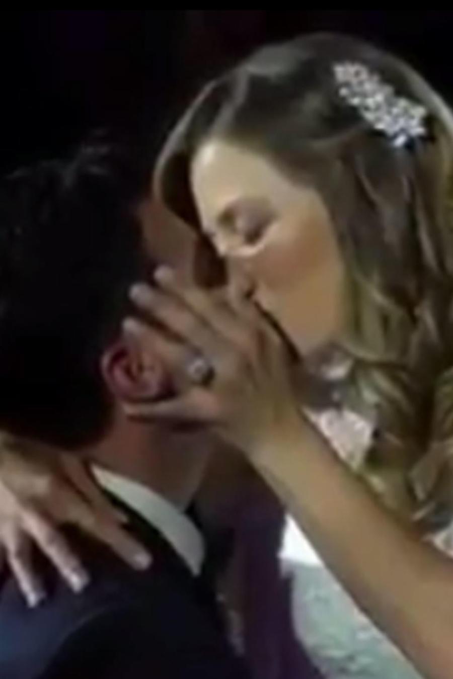 """Mira cómo recuerda Ximena Duque el """"día mágico"""" de su boda"""