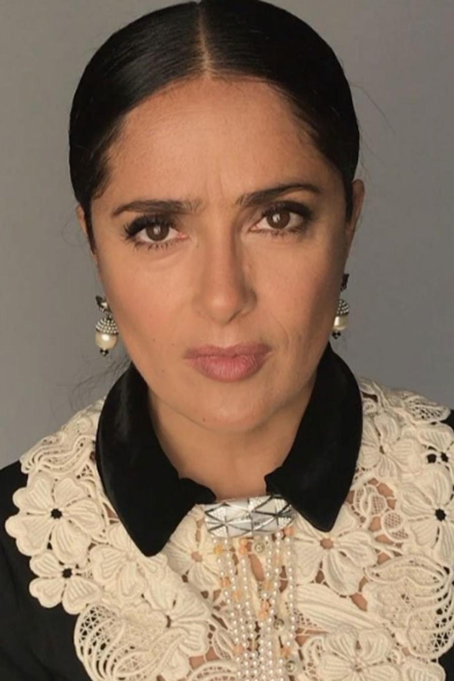 Salma Hayek, Javier Chicharito Hernández