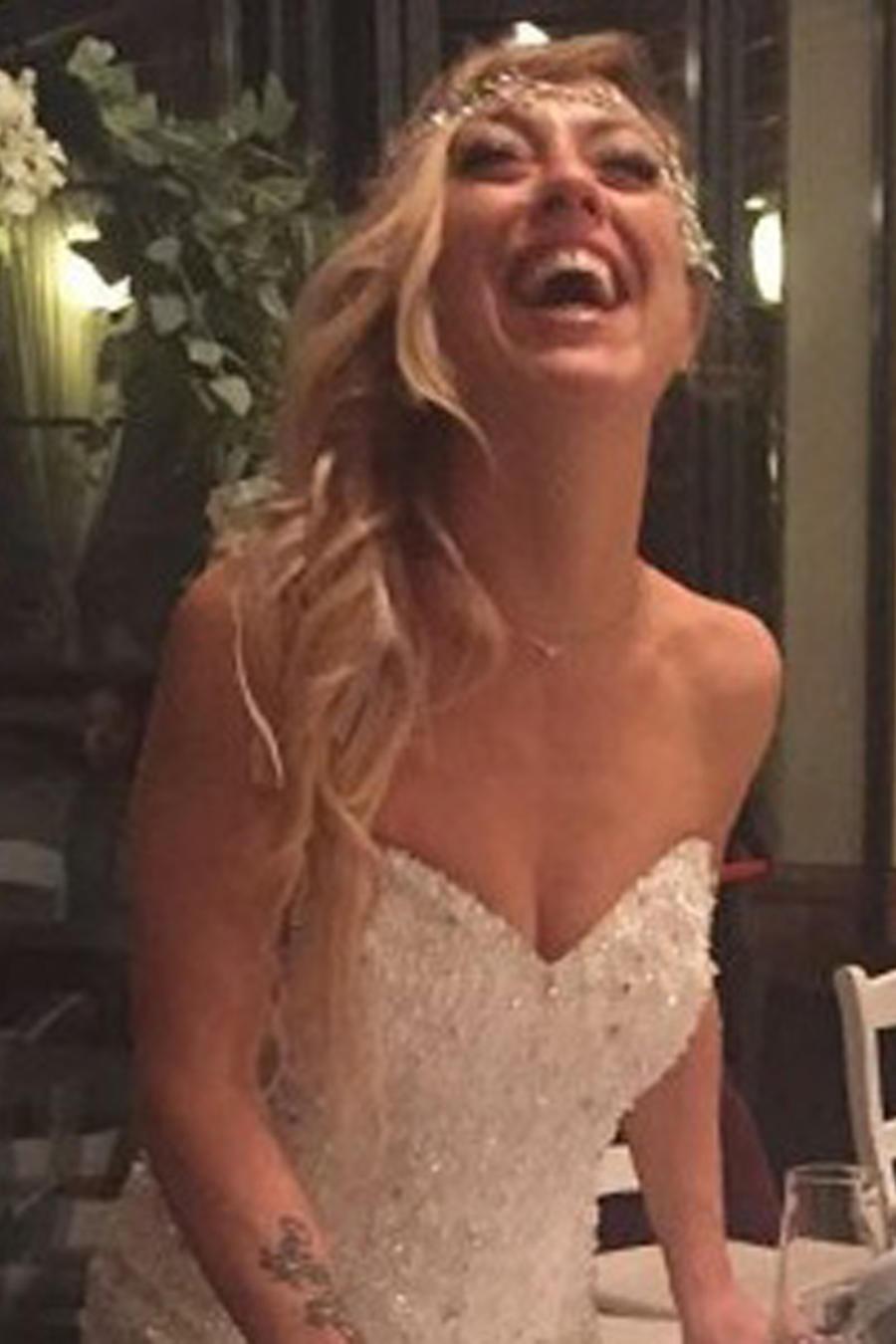 Laura Mesi sonriendo