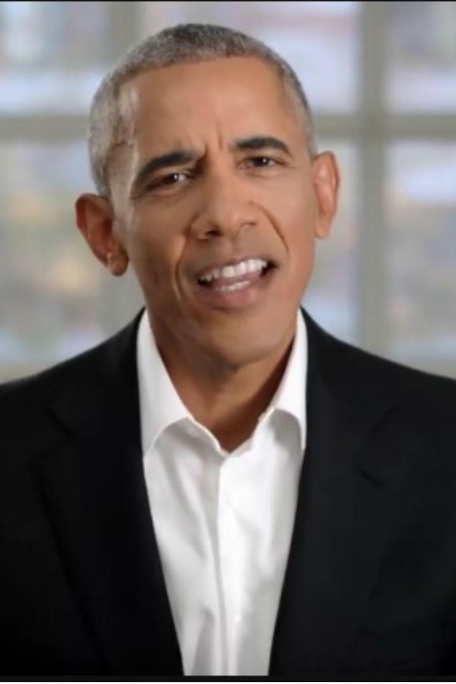 Collage de los Obama