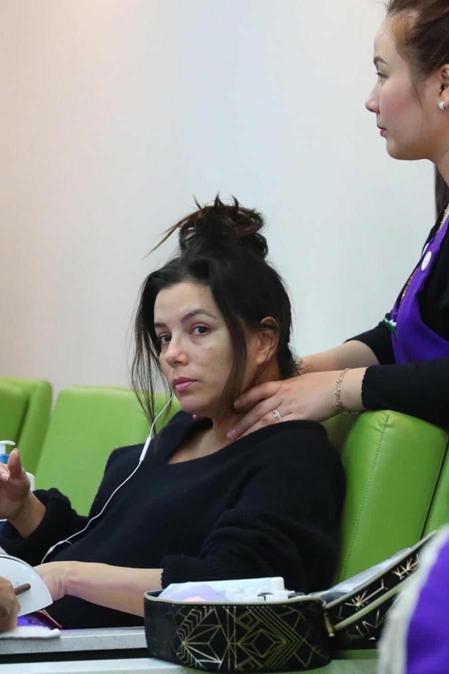 Eva Longoria sin maquillaje