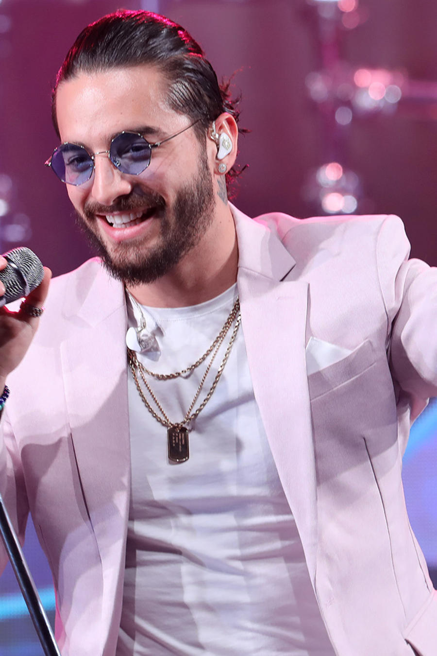 Maluma Performs The Spanish Version Of The Coca-Cola Anthem For the 2018 FIFA World Cup