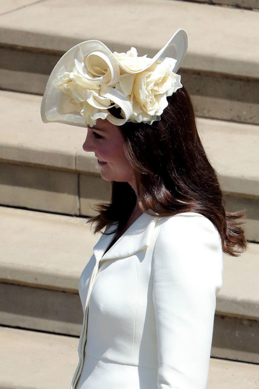 Kate Middleton en la boda del príncipe Harry