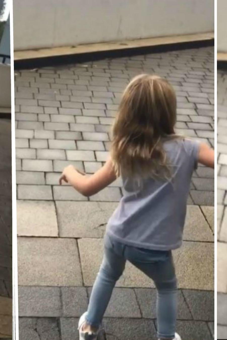 Miranda bailando