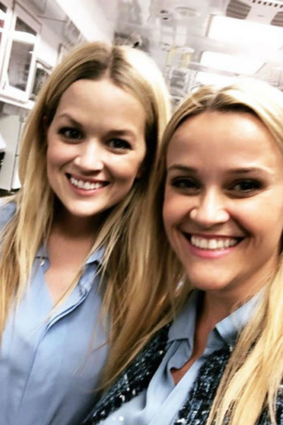 Reese Witherspoon con su doble