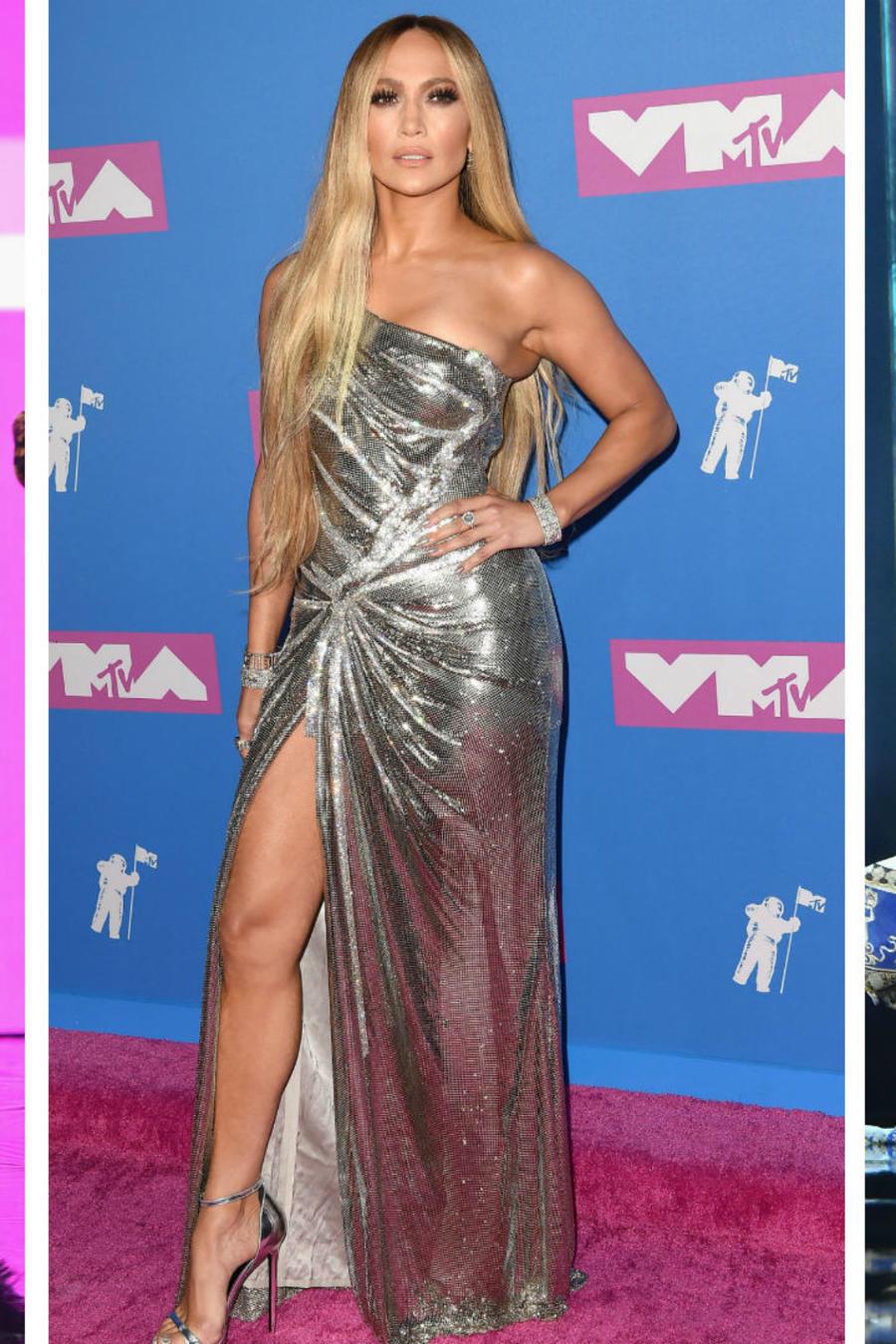 Jennifer Lopez en los MTV VMAs 2018
