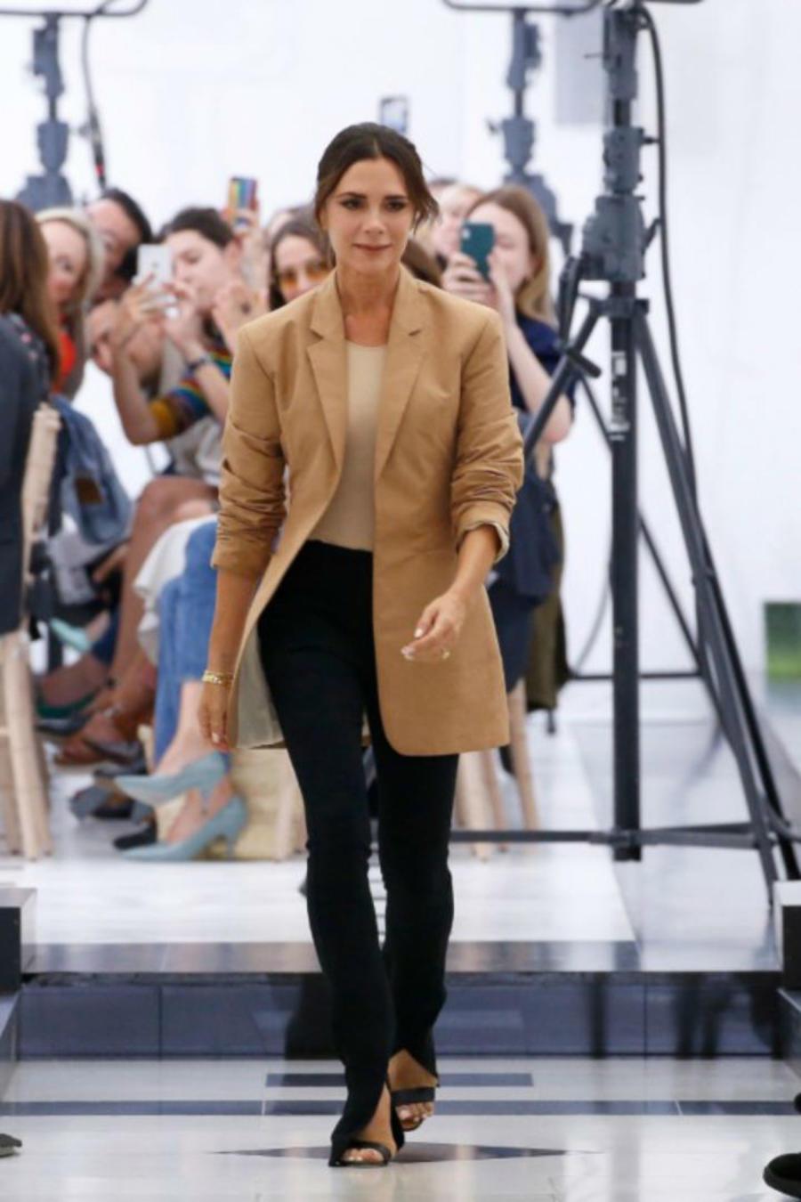 Victoria Beckham en la LFW