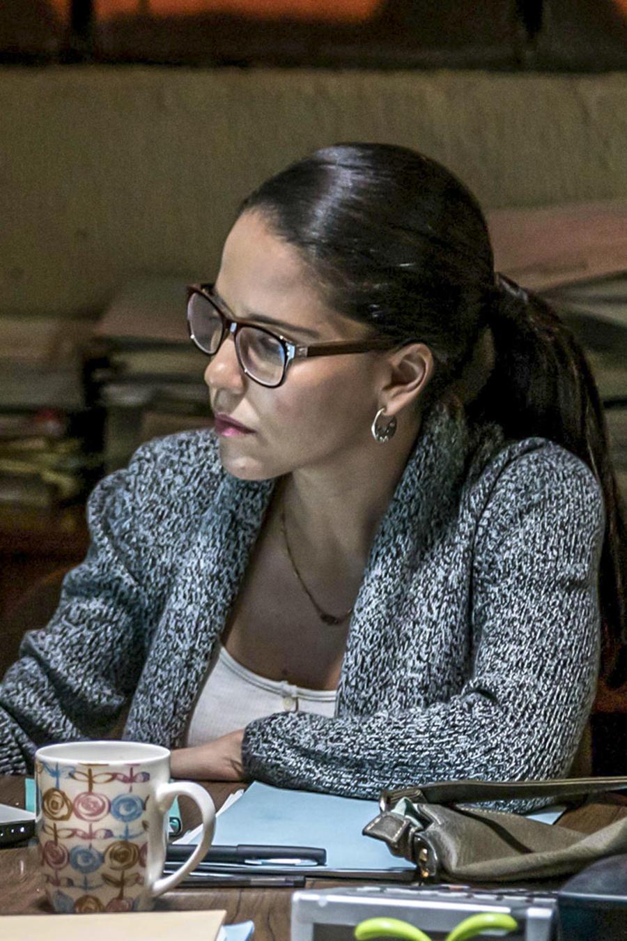 Ana Claudia Talancón en El Recluso