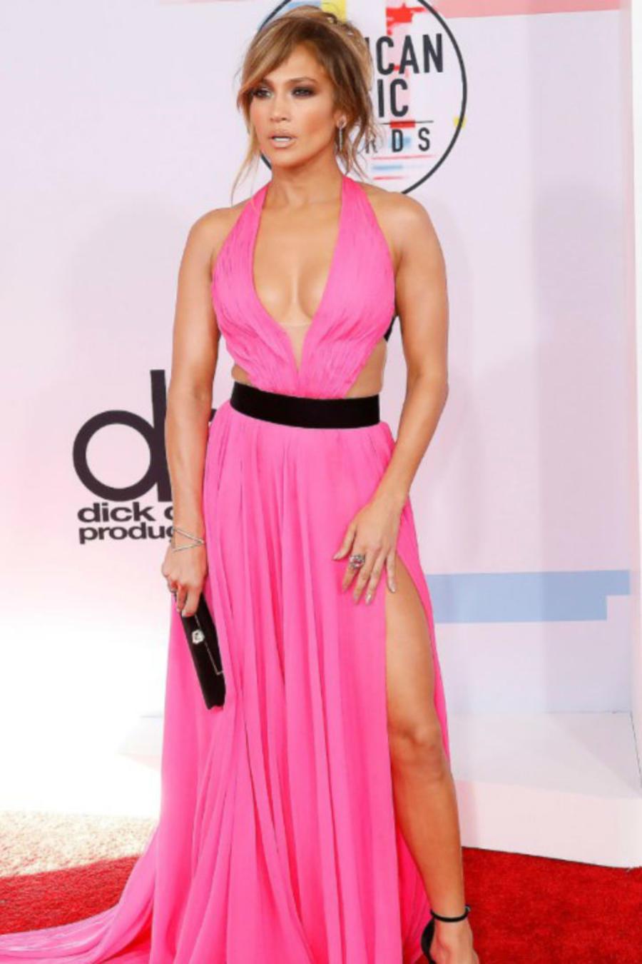 Jennifer Lopez en los AMAs 2018