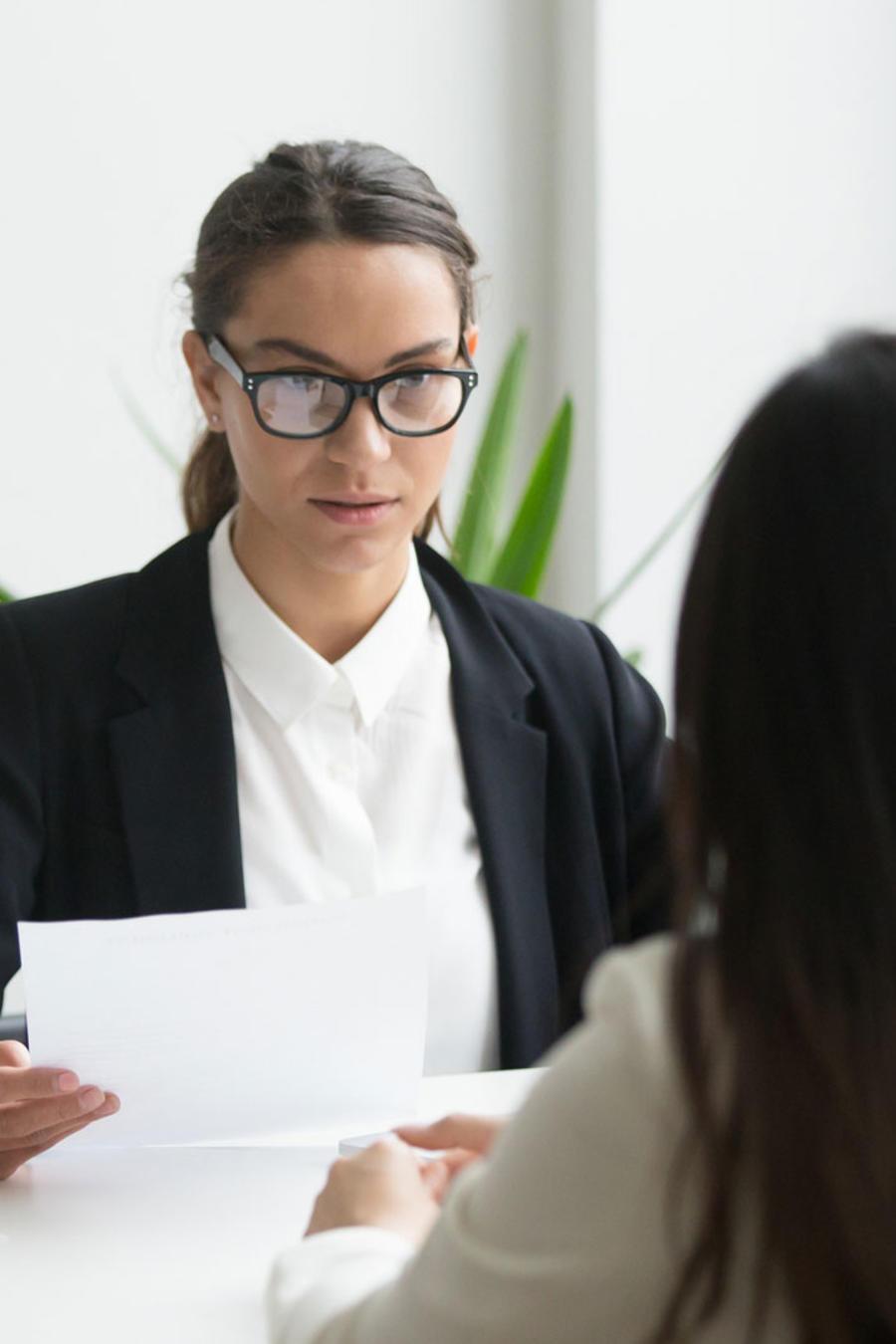 Controla los nervios antes de una entrevista laboral