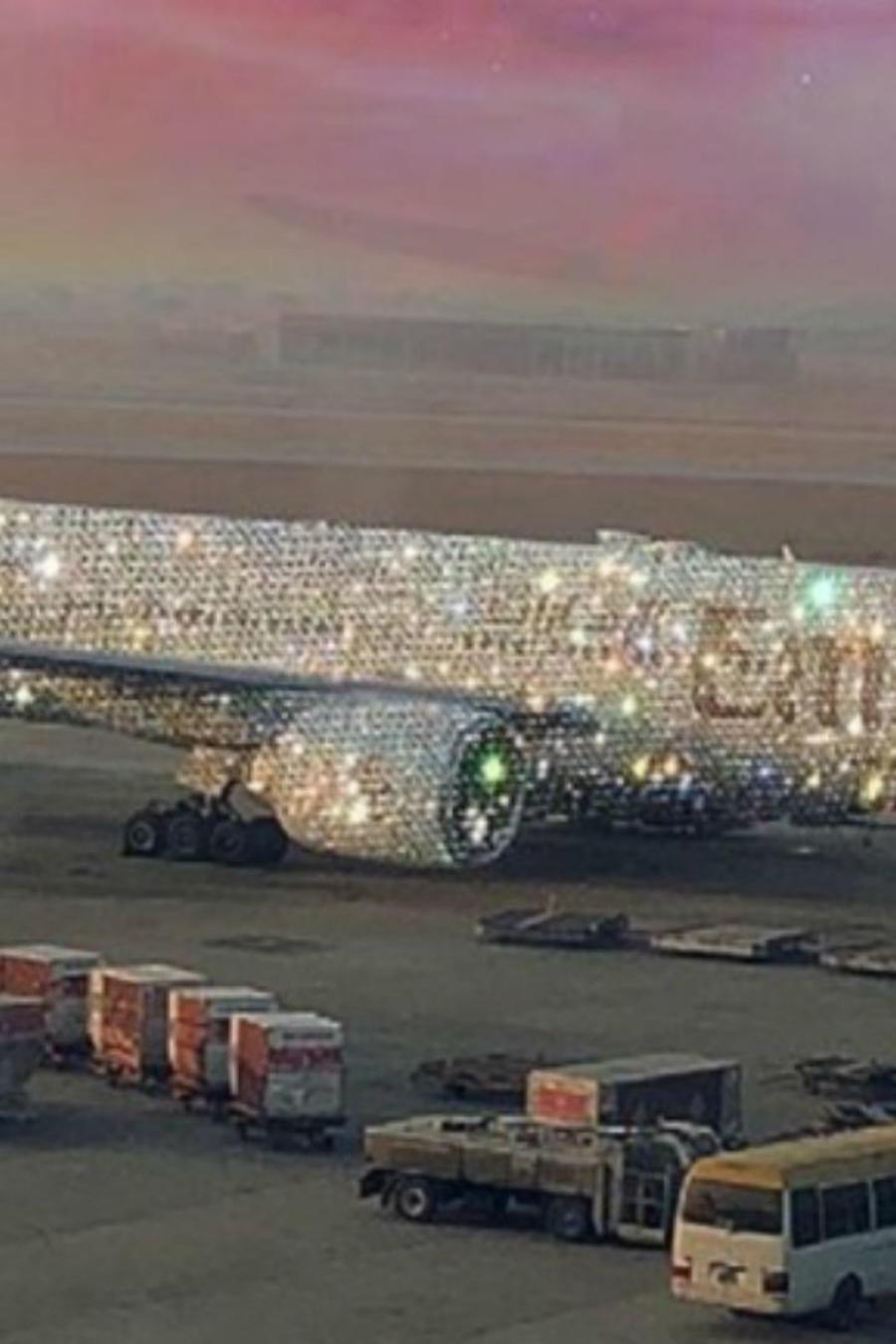 Avión diamante
