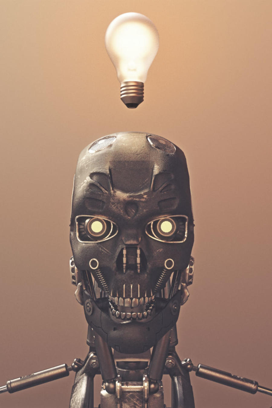 Máquina pensando