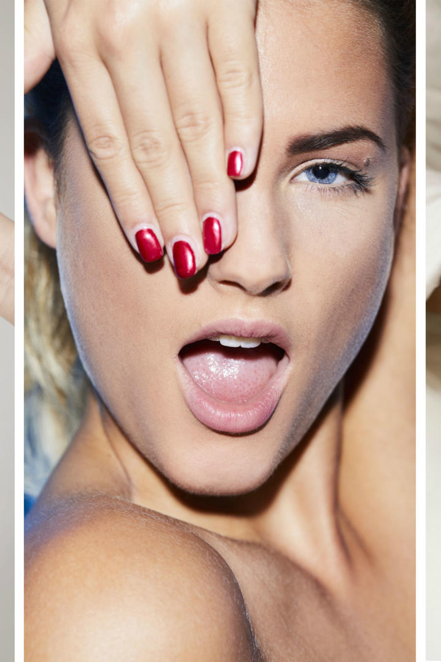 Manos mostrando sus uñas