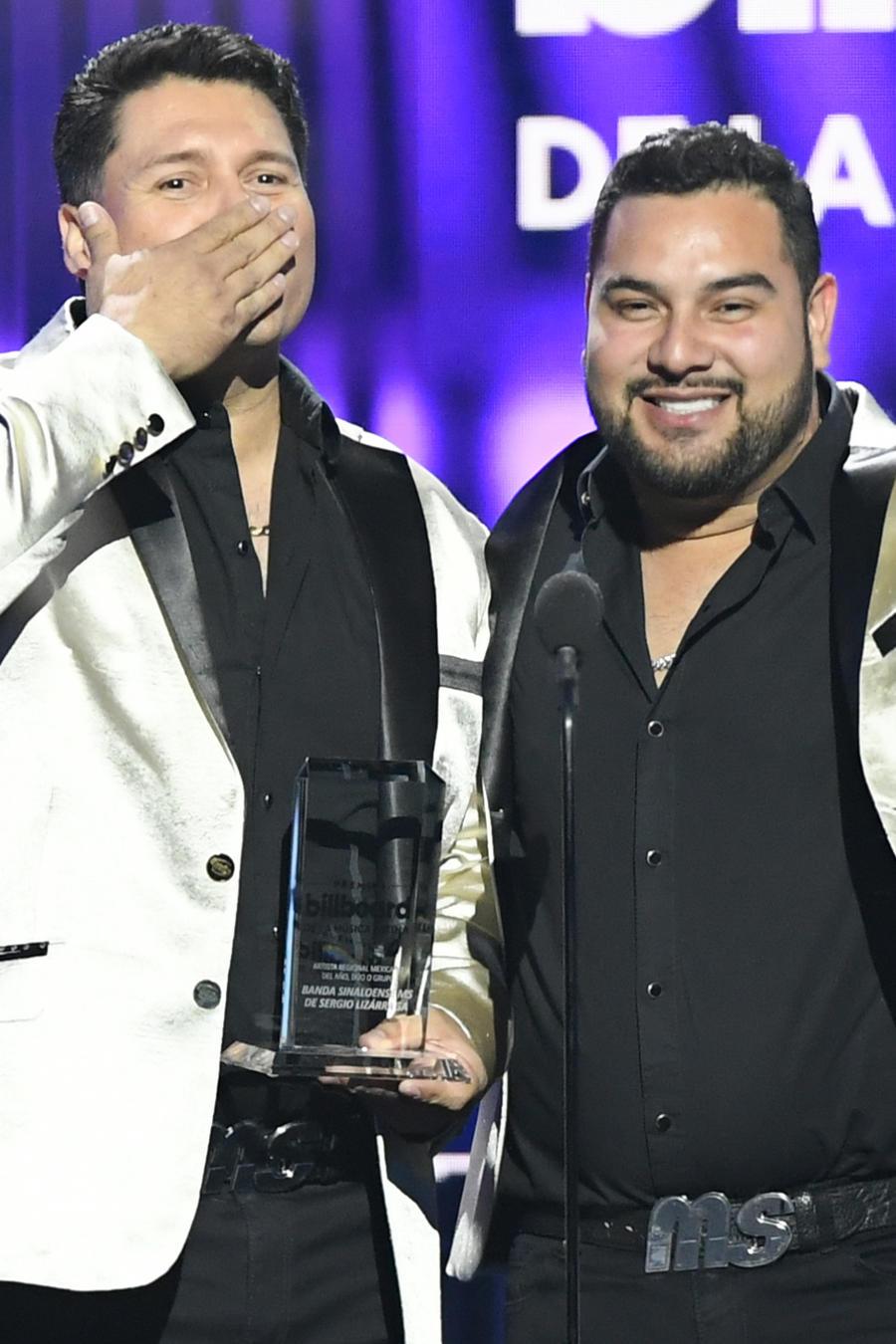Banda MS en Premios Billboard 2019