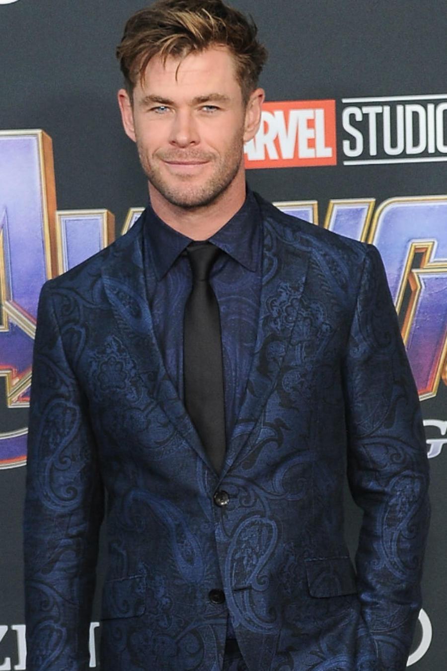 Chris Hemsworth en 2019