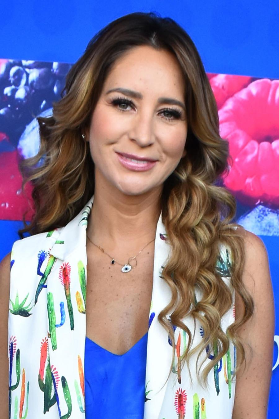 Geraldine Bazan durante el lanzamiento de ProBugs en la Ciudad de México.