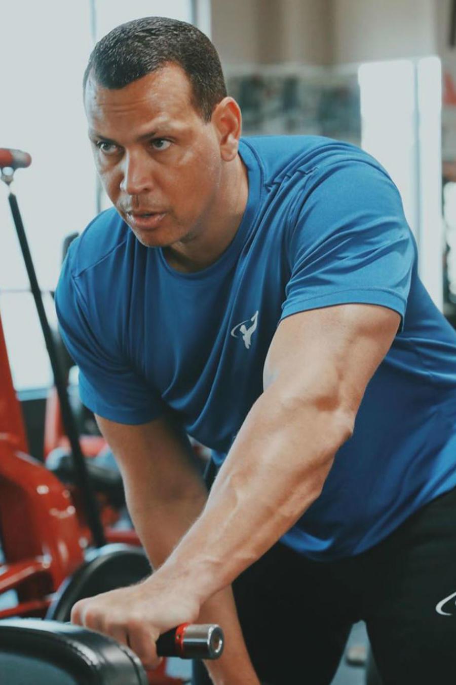 Rutina de ejercicio de Alex Rodriguez