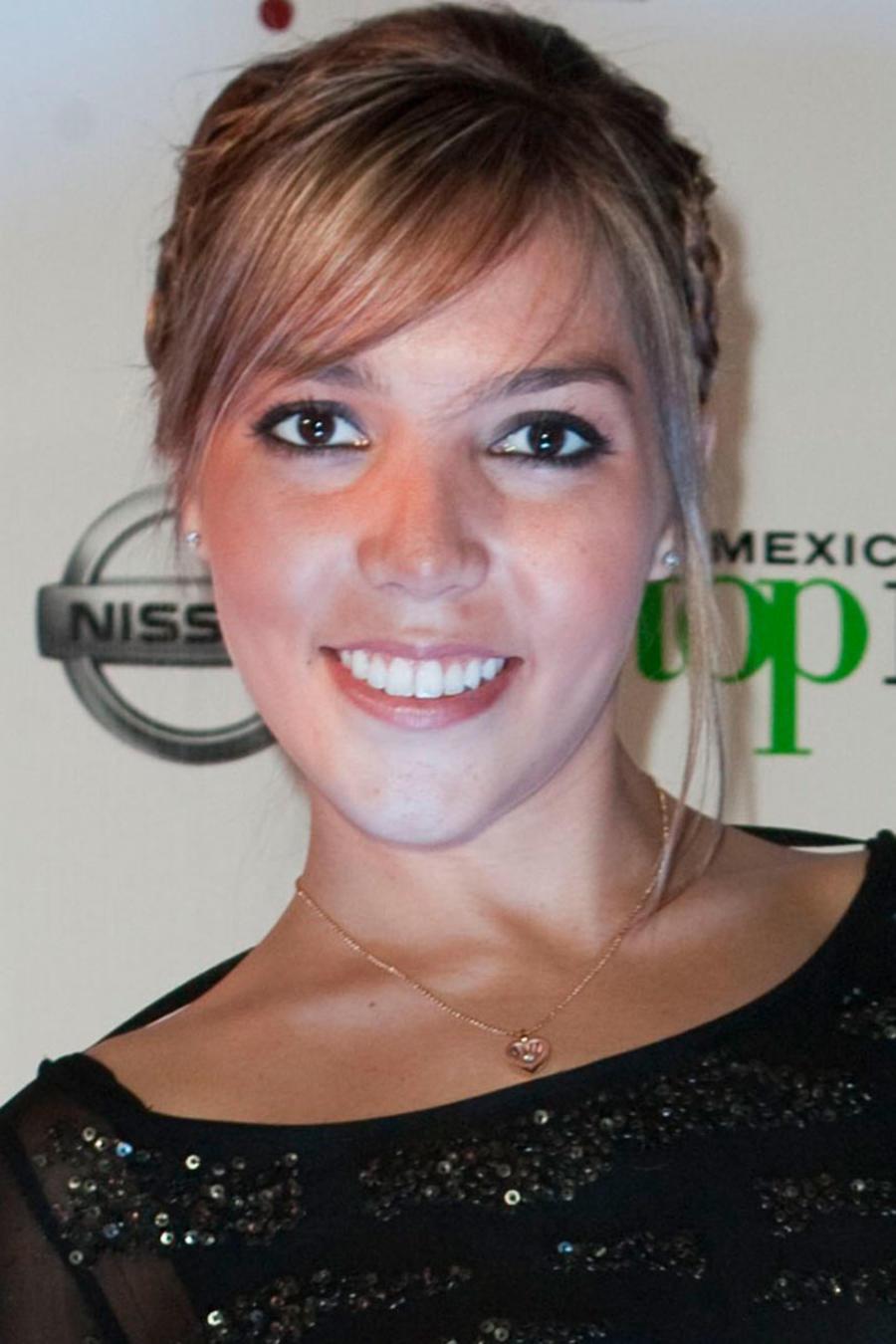 Frida Sofía durante la alfombra roja para la segunda temporada de Next Top Model de México.