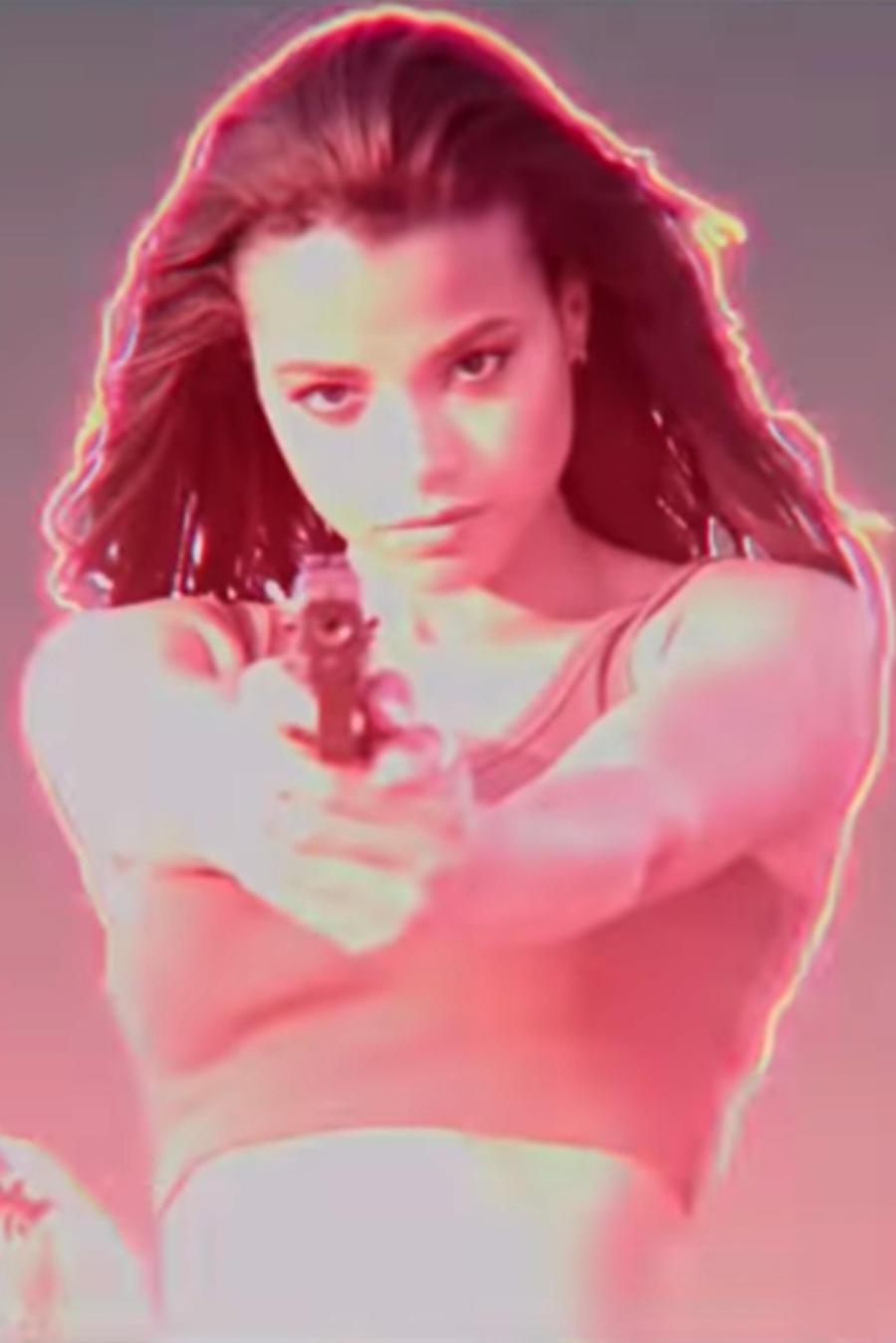 """Kristen stewart, Naomi Scott and Ella Balinska in """"Charlie's Angels"""""""