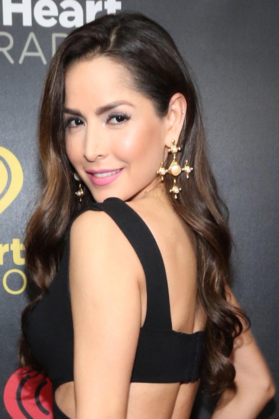 Carmen Villalobos en los iHeartRadio Fiesta Latina en Miami, Florida, 2016.