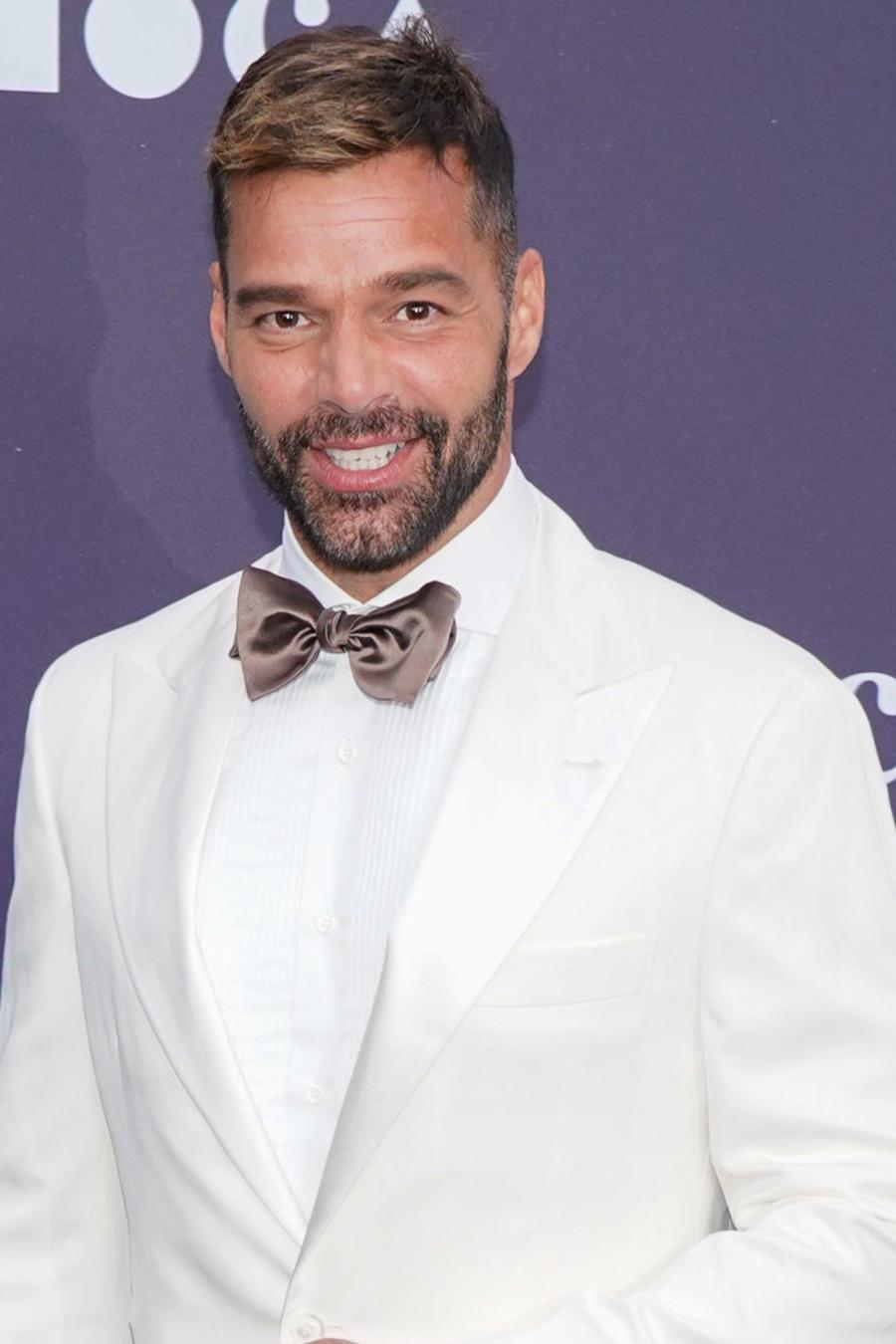 Ricky Martin en el evento de MOCA en Los Ángeles, California.