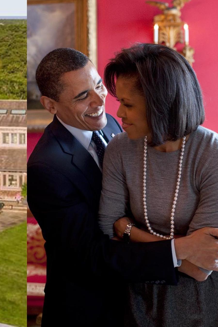 Barack Obama y Michelle Obama quiren esta casa