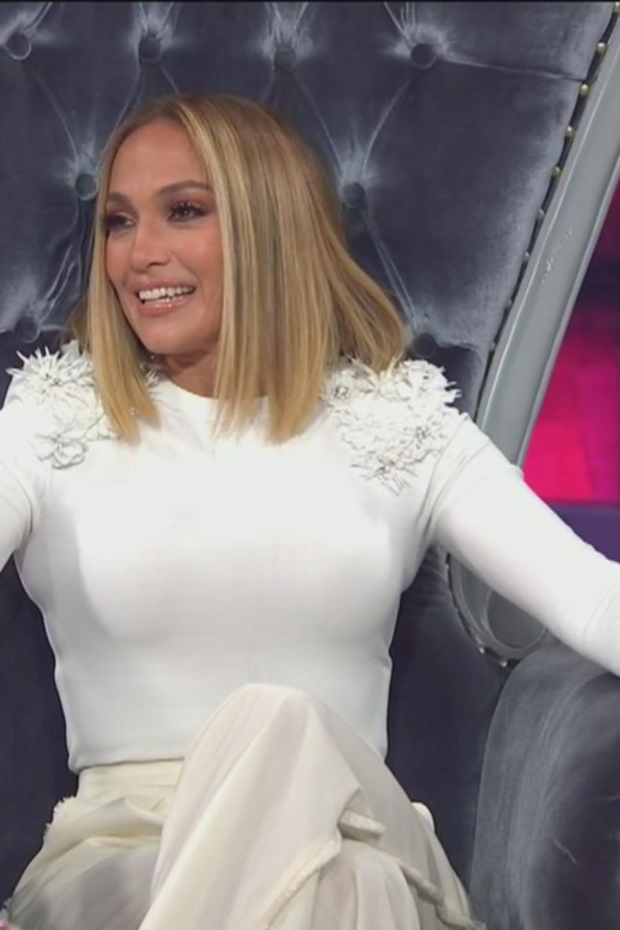 Jennifer López en Un Nuevo Día