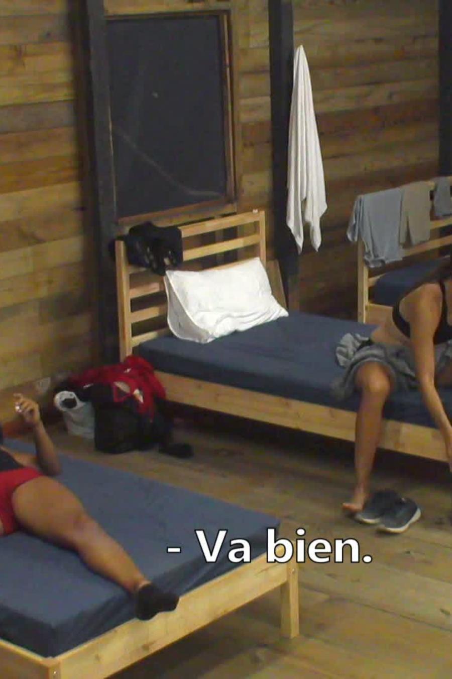 Shaila, Alexander y Norma hablan en La Cabaña