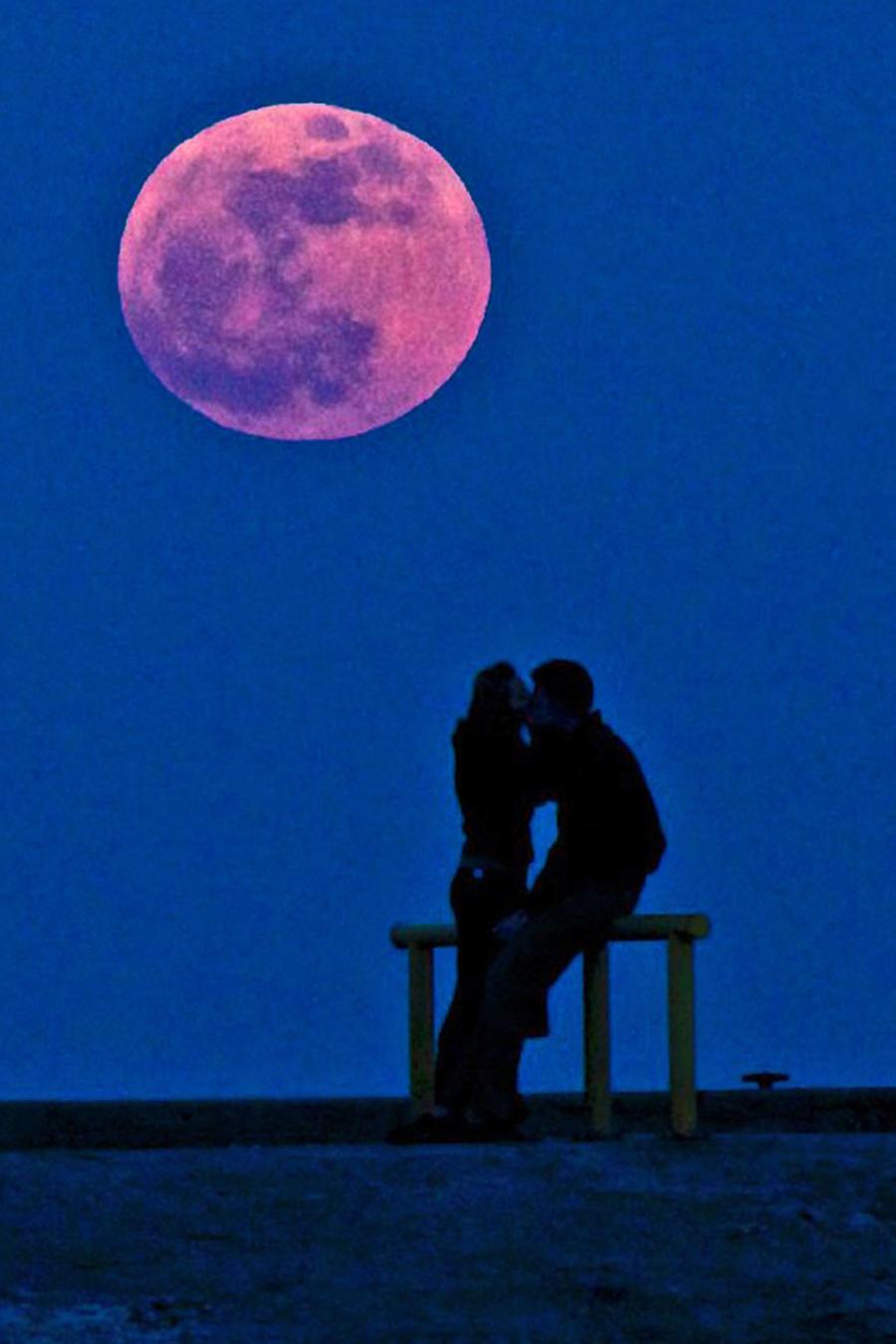 Paisaje con Luna