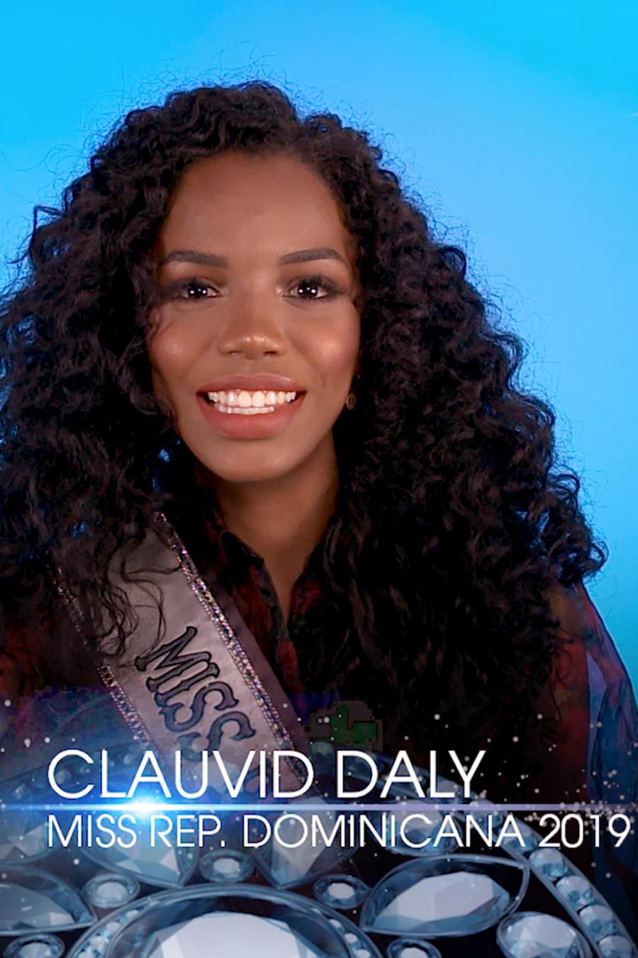 Clauvid Daly, Miss República Dominicana en Miss Universo 2019
