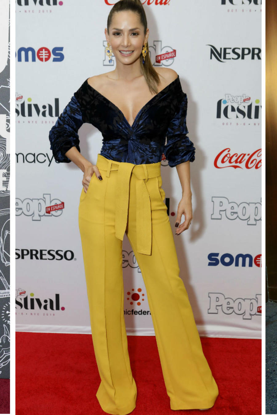 Thalia, Carmen Villalobos y Selena Gomez