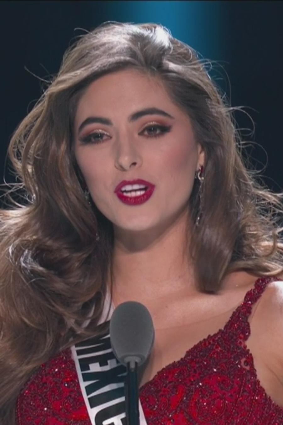 Respuesta de cierre Miss México, Miss Universo 2019