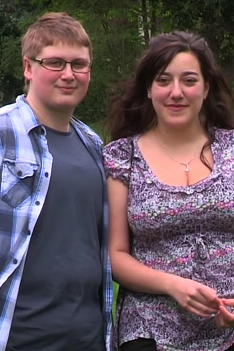 Rei Griffiths y su pareja