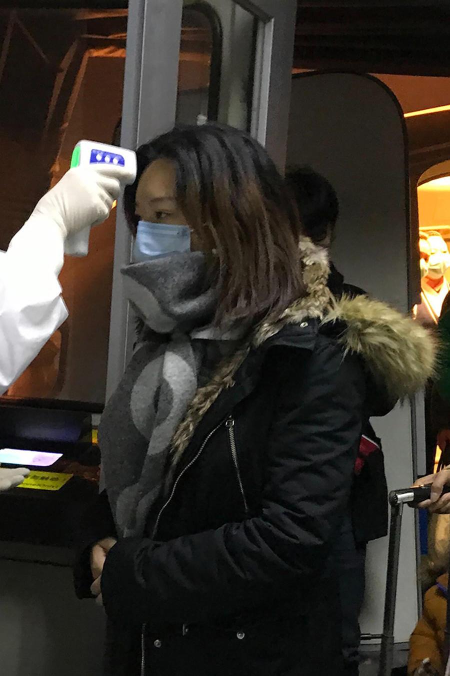 Aeropuerto de Beijing ante el coronavirus