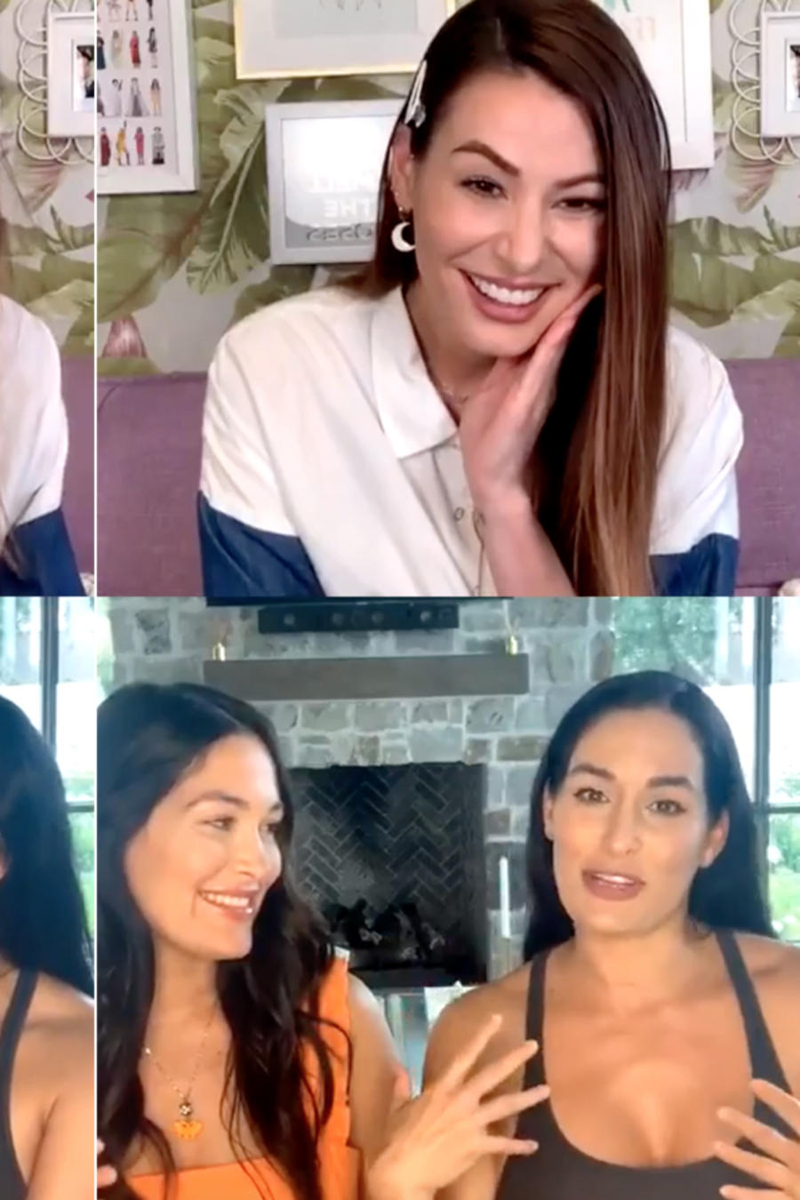 Bella Twins, Nastassja Bolívar, Instagram Live