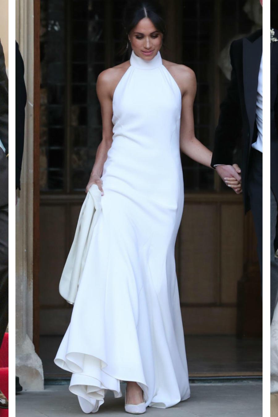 Reina Letizia, Meghan Markle y la princesa Eugenia el día de su boda