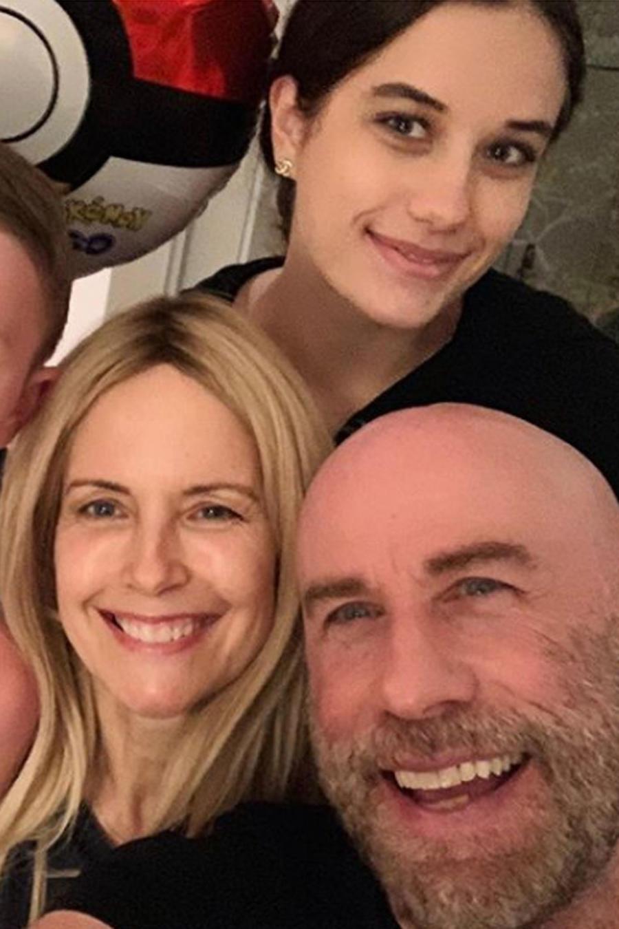 Familia John Travolta